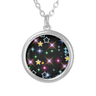 Party Shower Teacher Class  Astronomy Space Stars Custom Necklace
