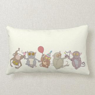 Party Tarsiers, Throw Pillows