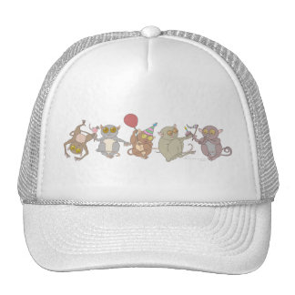 Party Tarsiers Mesh Hats