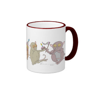 Party Tarsiers, Mug