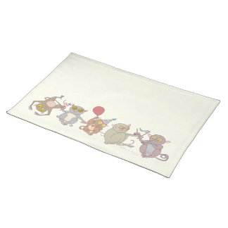 Party Tarsiers, placemat