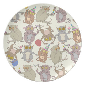 Party Tarsiers, Dinner Plate