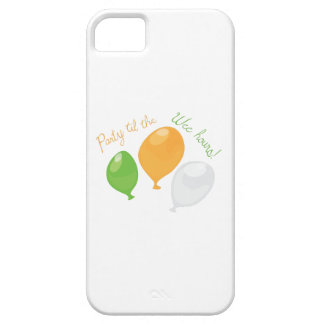 Party Till Wee Hours iPhone 5 Covers
