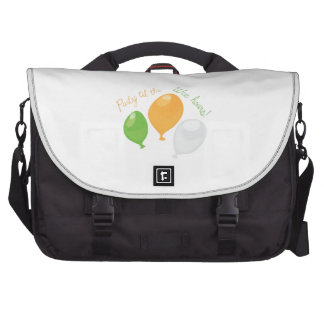 Party Till Wee Hours Laptop Messenger Bag