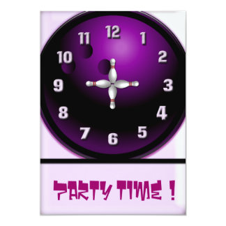 Party Time 13 Cm X 18 Cm Invitation Card