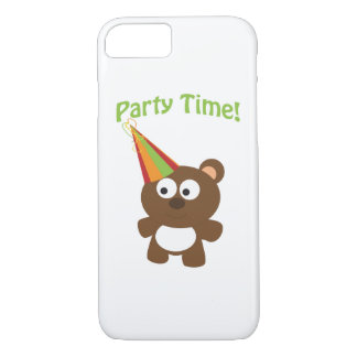 Party Time! Bear iPhone 7 Case