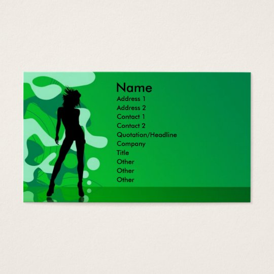 Party Time Business Card