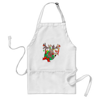 PARTY TIME by SHARON SHARPE Standard Apron