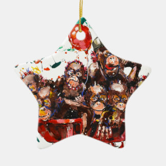 PARTY TIME CHRISTMAS ORNAMENT