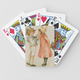 Party Time, Christmas postcard (colour litho) Bicycle Playing Cards