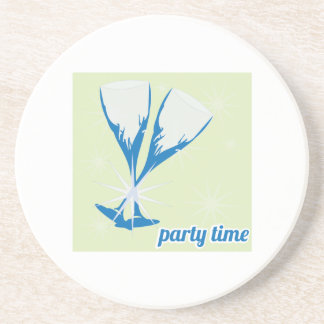 Party Time Beverage Coasters