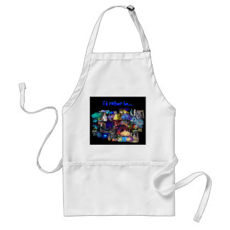 Party Time Collage apron