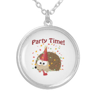 Party time! Confetti Hedgehog Pendants