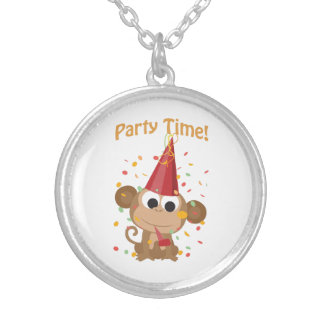 Party Time! Confetti Monkey Necklaces