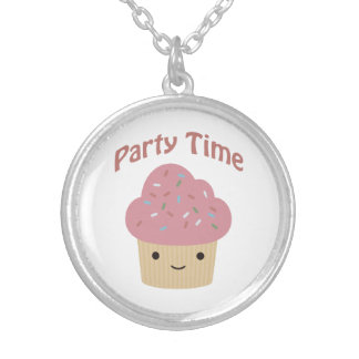 Party Time Cupcake Pendant
