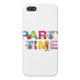 party time for kids iPhone 5 covers