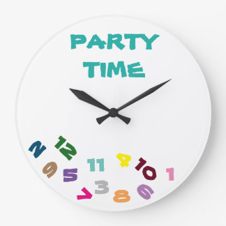 "****PARTY TIME***"" FUN WITH THIS COOL CLOCK"