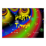 PARTY TIME!! Invitation Cards