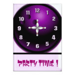 Party Time Personalized Announcement