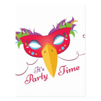 Party Time Postcard