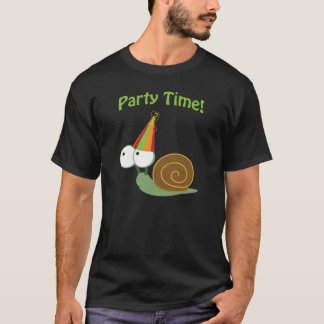 Party time! Snail T-Shirt