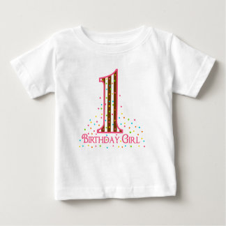Party Time Sprinkles First Birthday Baby T-Shirt