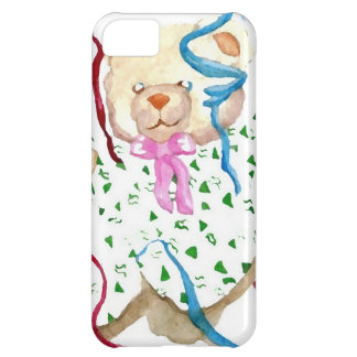 Party Time Teddy Bear CricketDiane Art Case For iPhone 5C