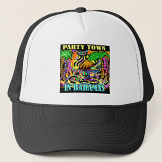PARTY TOWN IN BAHAMAS TRUCKER HAT
