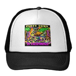 PARTY TOWN IN CALIFORNIA CAP