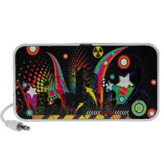 Party Town USA - Vector Street Art- Customizable Portable Speaker