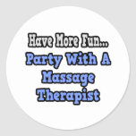 Party With A Massage Therapist