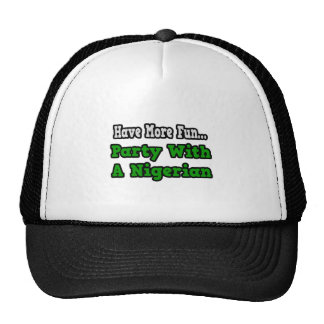 Party With A Nigerian Mesh Hat