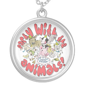 party with the farm animals necklace
