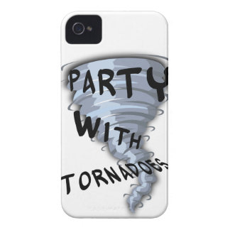 Party With Tornadoes iPhone 4 Case-Mate Case