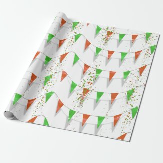 Partytime on Wrapping Paper