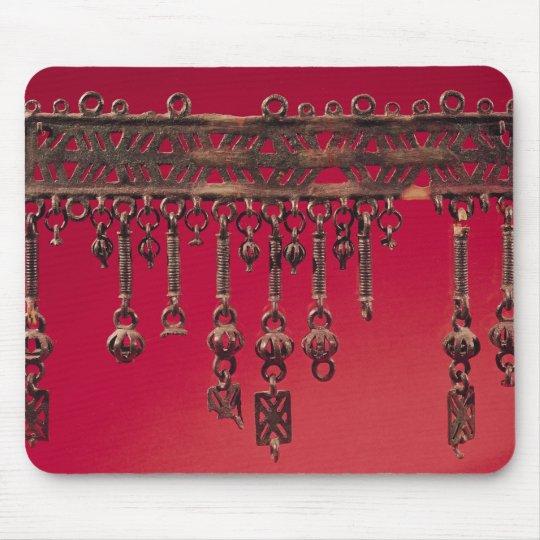 Parure with bell pendants mouse mat