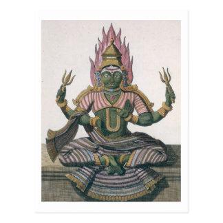 Parvati, from 'Voyage aux Indes et a la Chine' by Postcard