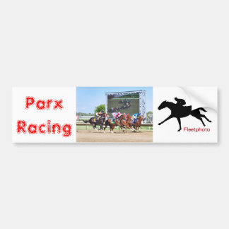 Parx Racing Bumper Sticker
