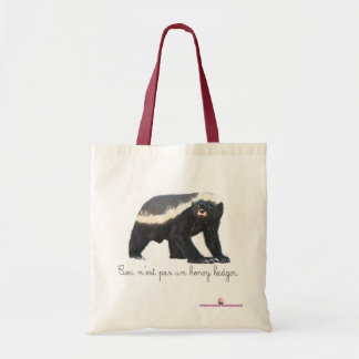 Pas Un Honey Badger Tote Bag