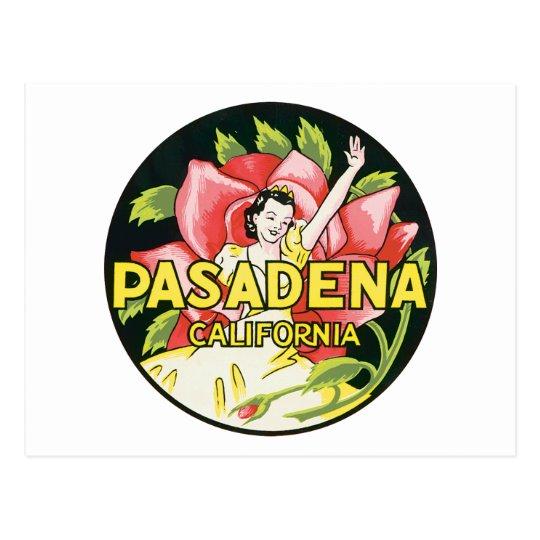 Pasadena California Postcard