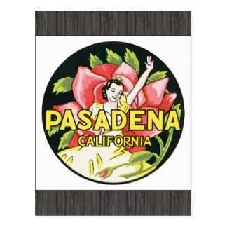 Pasadena California, Vintage Postcard