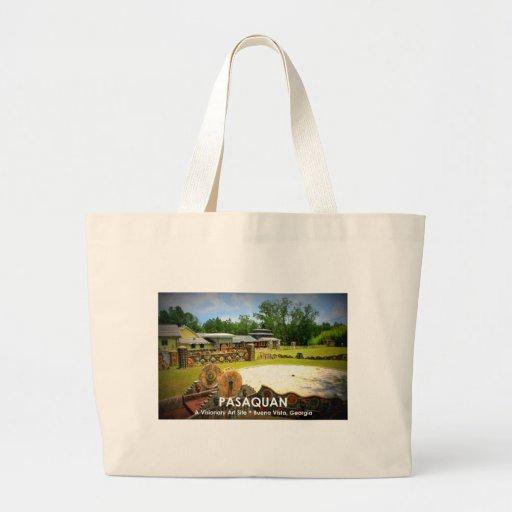 PASAQUAN - A Visonary Art Site - Buena Vista, GA Tote Bag