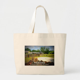 PASAQUAN - A Visonary Art Site - Buena Vista, GA Jumbo Tote Bag