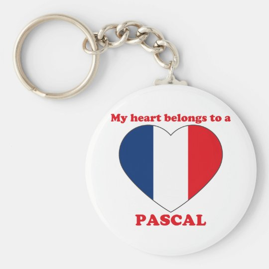 Pascal Basic Round Button Key Ring