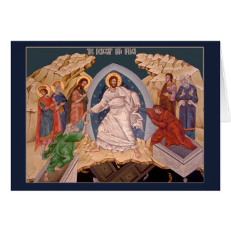 Pascha (Easter) Icon Greeting Card