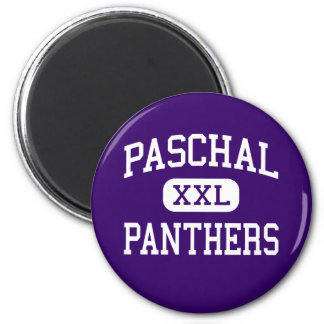 Paschal - Panthers - High - Fort Worth Texas 6 Cm Round Magnet