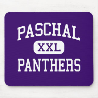 Paschal - Panthers - High - Fort Worth Texas Mouse Pads