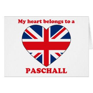 Paschall Card