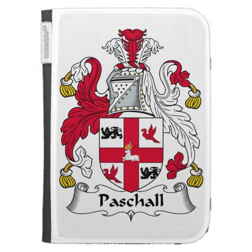 Paschall Family Crest Case For Kindle