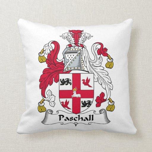 Paschall Family Crest Pillow